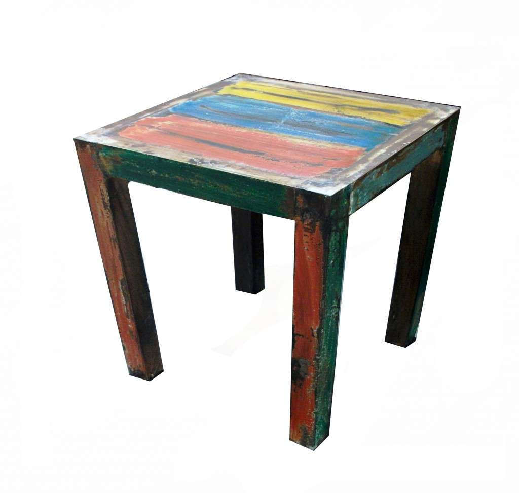 Boat Wood Table (60x40x40cm) , Furniture, Tables | Mreast