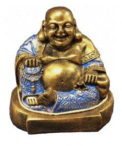 άγαλμα που απεικονίζει τον χαμογελαστό Βούδα