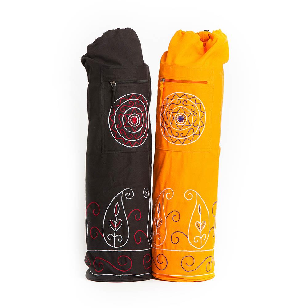 Τσάντα για στρώμα γιόγκα με κέντημα
