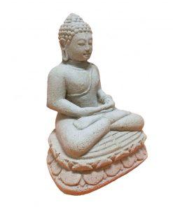 πέτρινο άγαλμα που απεικονίζει τον Βούδα καθιστό