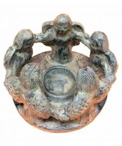 άγαλμα το οποίο απεικονίζει ένα κύκλο αγγέλων