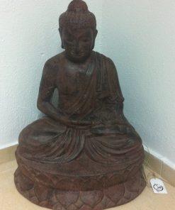 άγαλμα το οποίο απεικονίζει Βούδα που προσεύχεται