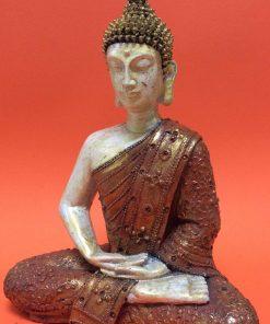 άγαλμα που απεικονίζει καθιστό Βούδα