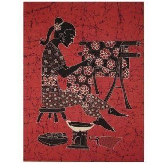 πίνακας μπατίκ Ινδονησίας