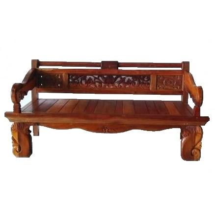 ξύλινος καναπές-κρεβάτι από Ινδονησία