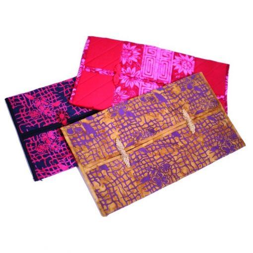 κάλυμμα μπατίκ για κουτί με χαρτομάντηλα