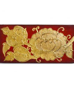 παραδοσιακοί μικροί πίνακες με φύλλα χρυσού