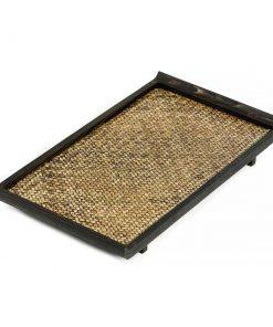 ξύλινος δίσκος σερβιρίσματος από μπαμπού