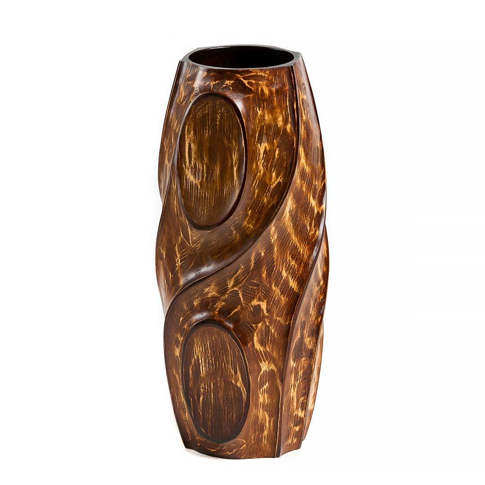 βάζο από ξύλο μάνγκο