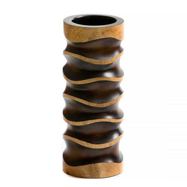 ξύλινο βάζο