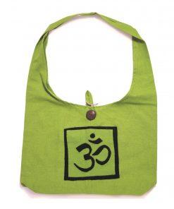 τσάντα ώμου με σχέδια γιόγκα mdm