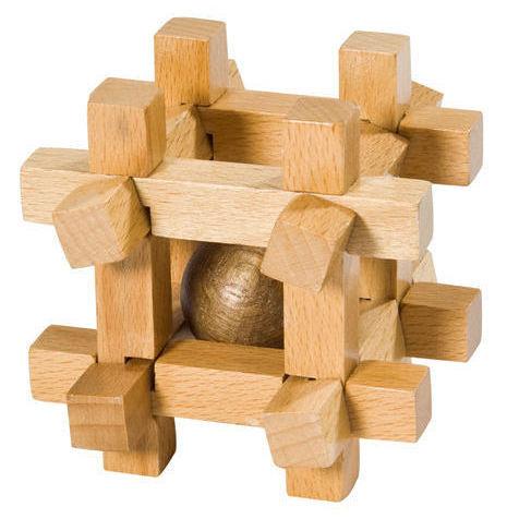 παιχνίδι παζλ κύβος με μπαλάκι