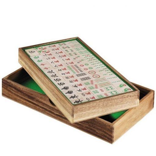 ξύλινο παιχνίδι Mah jong