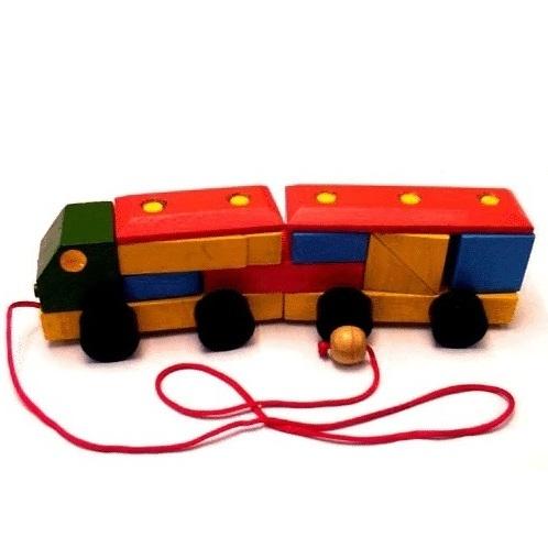 πολύχρωμο φορτηγό - παζλ
