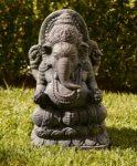 πέτρινο άγαλμα που απεικονίζει την ινδική θεότητα