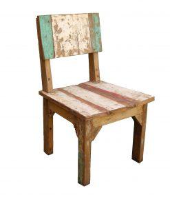 καρέκλα από ξύλο βάρκας Ινδονησίας