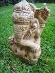 πέτρινο άγαλμα που απεικονίζει την θεότητα Γκανέσα