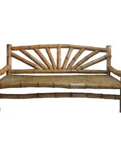 καναπές κρεβάτι από μπαμπού