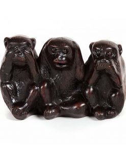 άγαλμα με τρεις πιθήκους