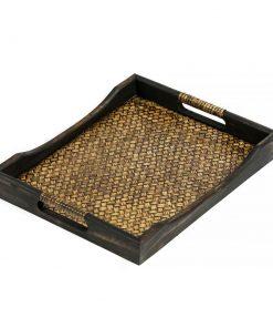 ξύλινος δίσκος σερβιρίσματος από ξύλο μάνγκο