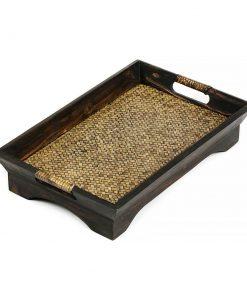 δίσκος σερβιρίσματος από ξύλο