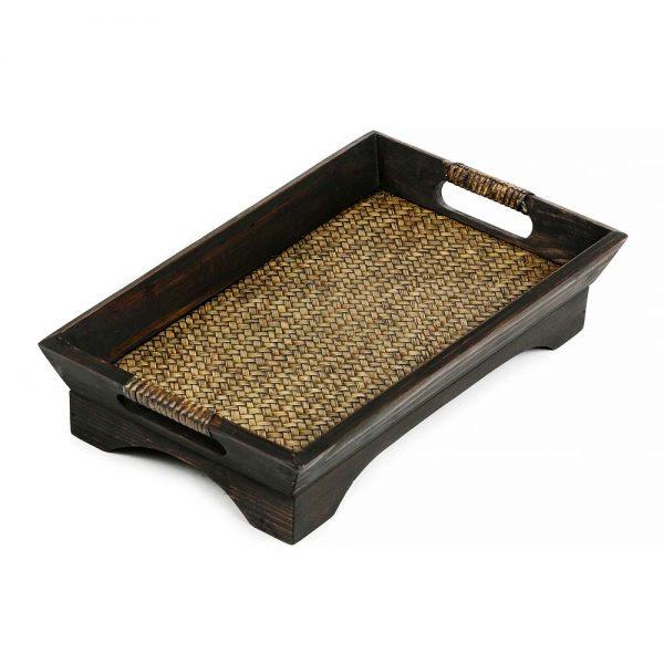 δίσκος σερβιρίσματος από ξύλο μάνγκο