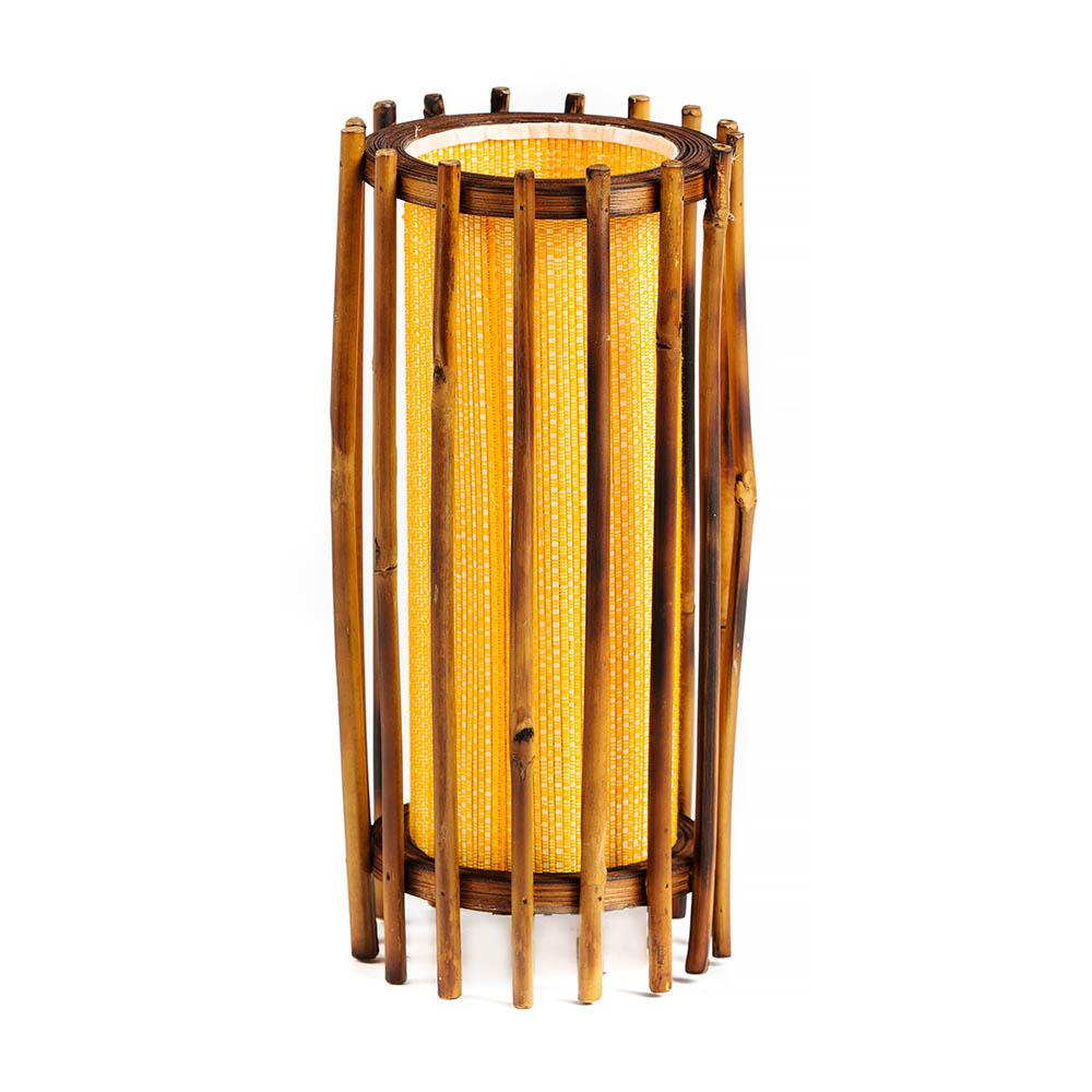 επιτραπέζιο φωτιστικό από μπαμπού