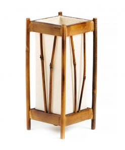 επιτραπέζιο ξύλινο φωτιστικό Ταϊλάνδης