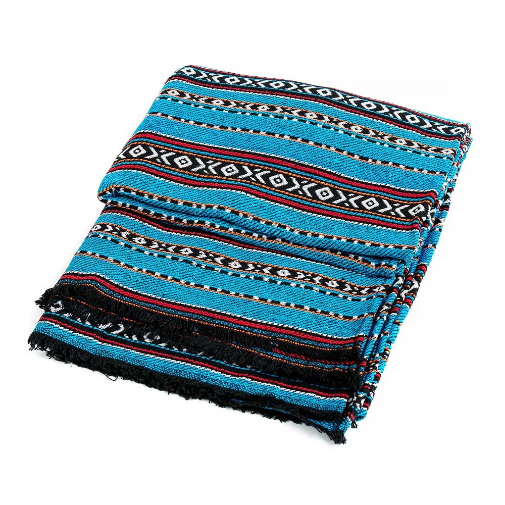 κάλυμμα καναπέ από παραδοσιακά υφάσματα hill tribe