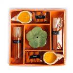 03022701 – Σετ αρωματικών στικ και κόνων πορτοκάλι