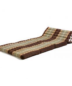 ημίδιπλο τρίγωνο μαξιλάρι - στρώμα Ταϊλάνδης με τρεις δίπλες (Thai)