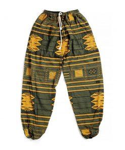 πράσινη κίτρινη αντρική παντελόνα