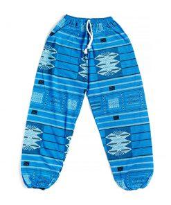 γαλάζια αντρική παντελόνα