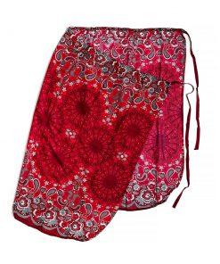 κόκκινη φούστα παρεό από Ταϊλάνδη
