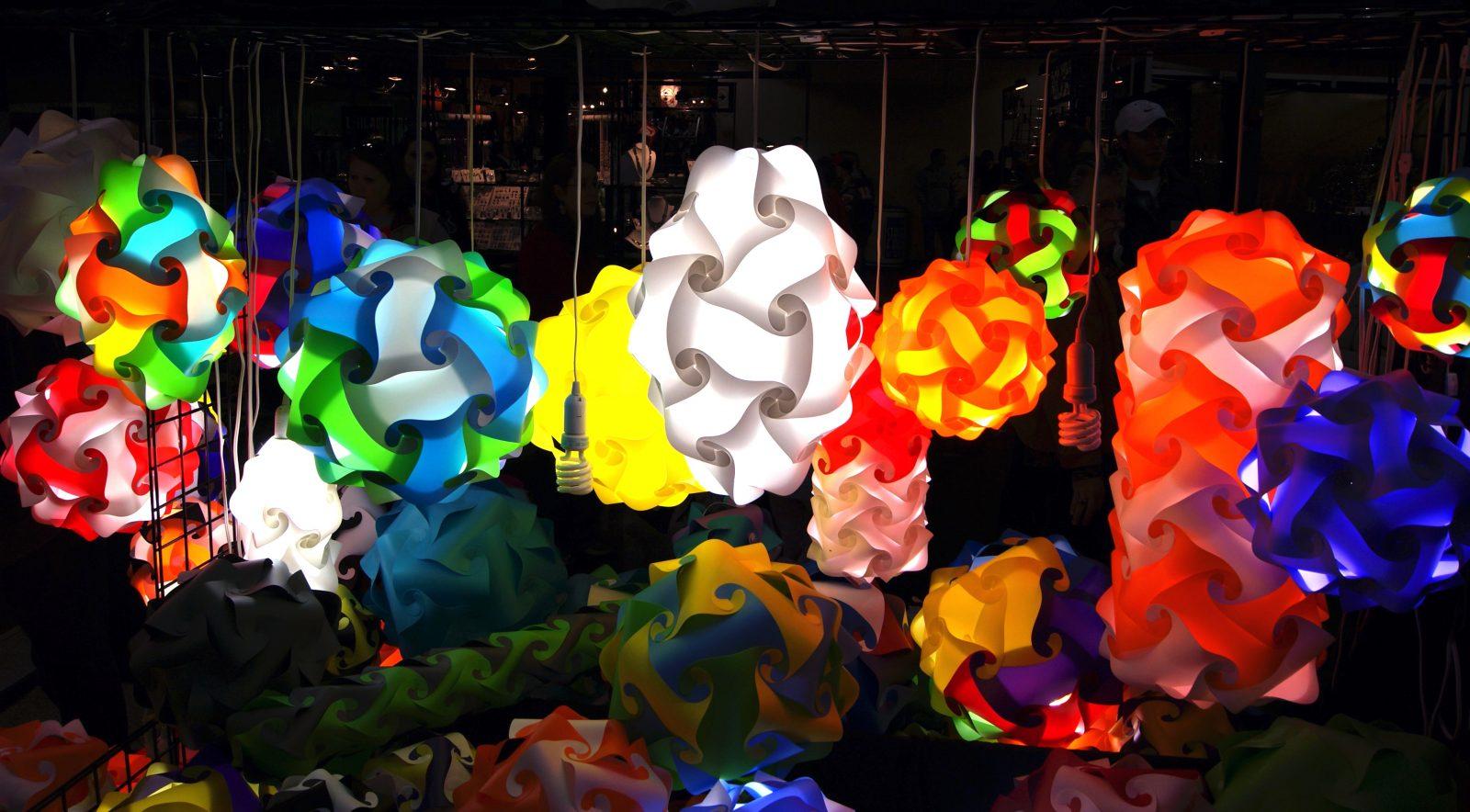 Φωτιστικά παζλ (puzzle lamps)