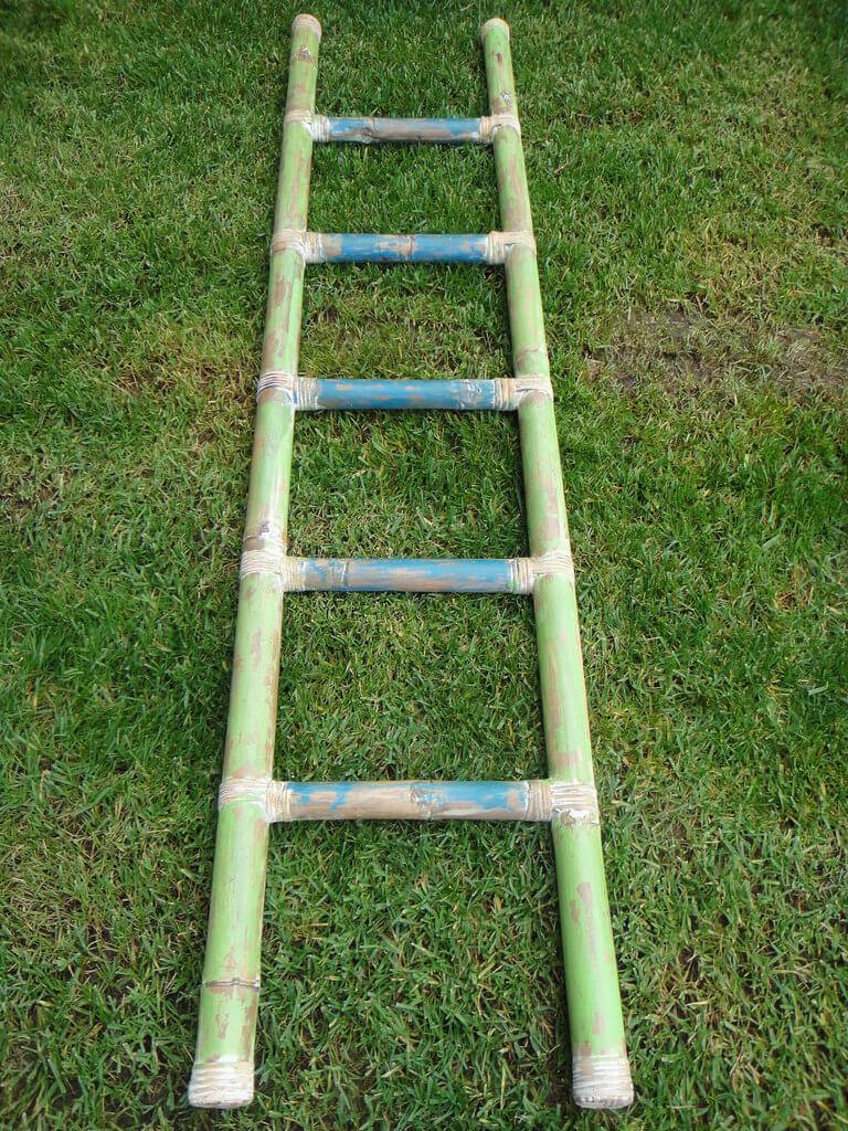 Σκάλες - κρεμάστρες για πετσέτες bamboo