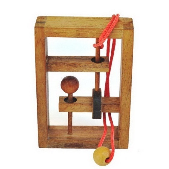 Ring & string puzzles