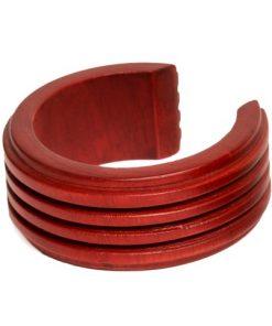 πλατύ ξύλινο βραχιόλι