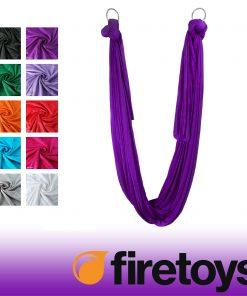 Πανιά εναέριας γιόγκα (silks) firetoys
