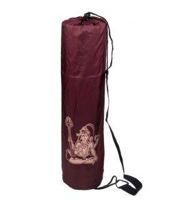μπορντό τσάντα στρώματος γιόγκα