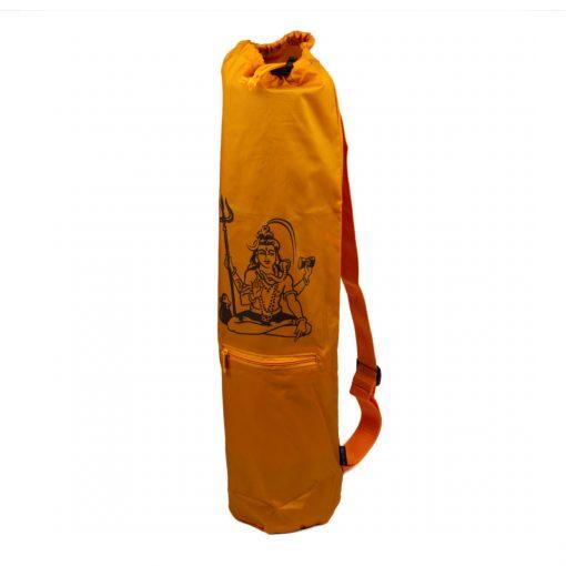 πορτοκαλί τσάντα στρώματος γιόγκα